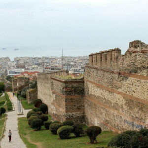 The Walls of Thessaloniki