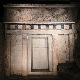 The Magnificent royal tombs and museum of Philippos